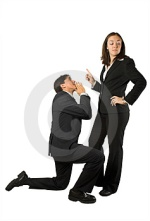 Image taken from http://www.dreamstime.com/stock-images-business-begging-man-to-woman-image285974