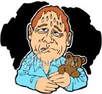 sweating_man_with_a_fever_clip_art_clipart_image1