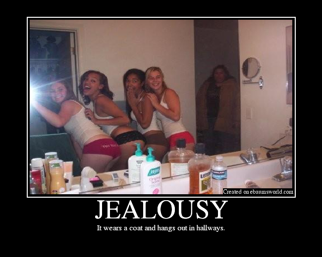 Image result for jealousy wears a coat