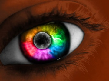 Gay Pride Black Eye