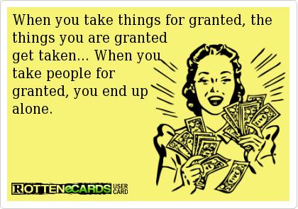 Ain't that the truth... Sigh.